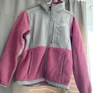 The North Face Zip Up Pink